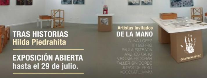 De La Mano, joyería, contemporánea, arte, art, contemporary, jewelry, jewellery, DLM, Banasta, Llanogrande, Artistas, Hilda Piedrahita, Tras Historias, exposición