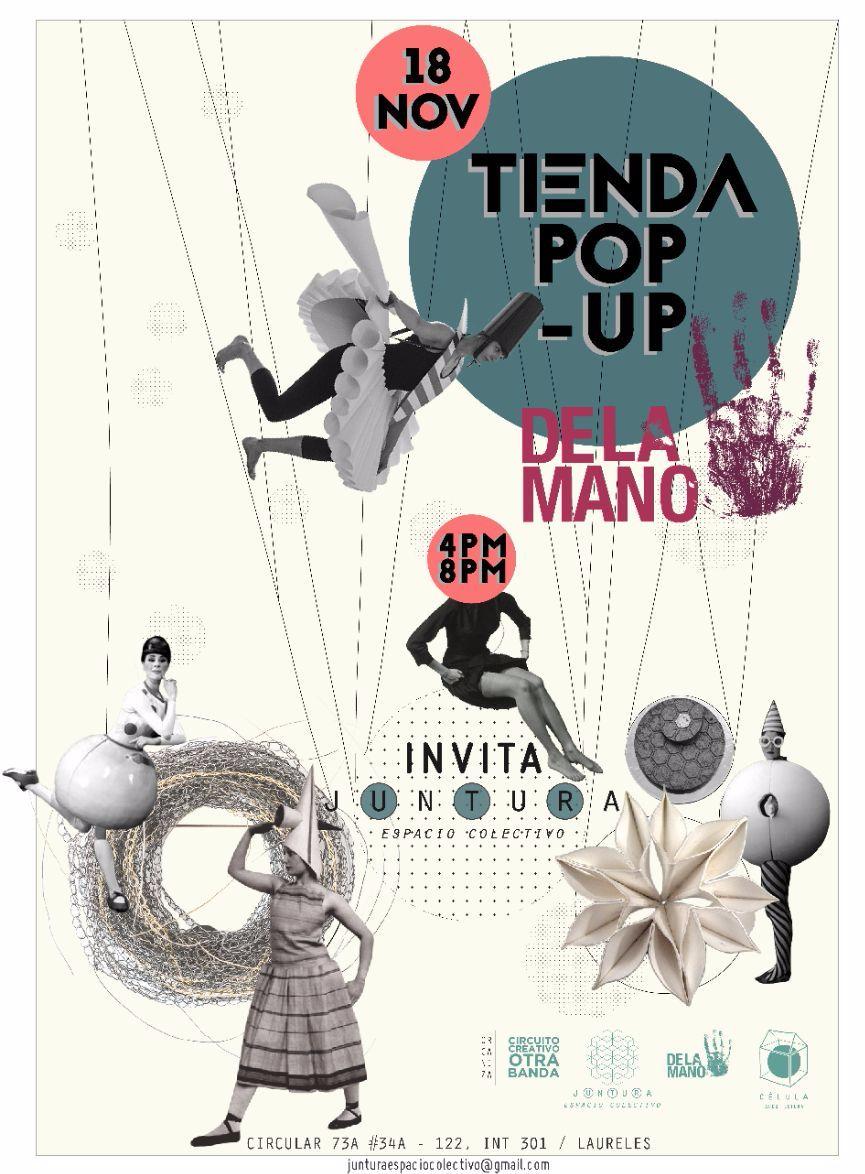 pop up, tienda, De La Mano, Joyería, Joyería Contemporánea, Juntura, arte, exhibición